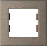 ROSA FRAME SINGLE BRONZE