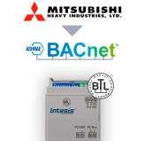 Mitsubishi Heavy Industries FD and VRF systems to BACnet MSTP Interface - 1 unit