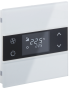 Rosa Glass-Thermostat-1F-White-Status-No_Icon